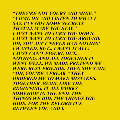 the strokes truisms 4