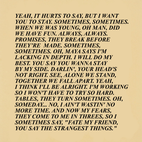 the strokes truisms