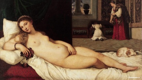 Titian The Venus of Urbino, 1538 (2)