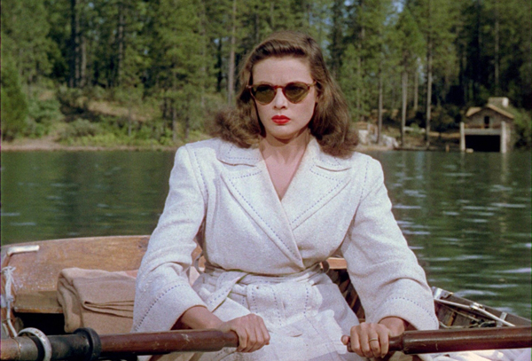 Gene Tierney in John M. Stahl's LEAVE HER TO HEAVEN (1945). Co
